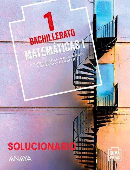 1 Bachillerato Anaya Suma Piezas Matemáticas I Soluciones (ciencias)