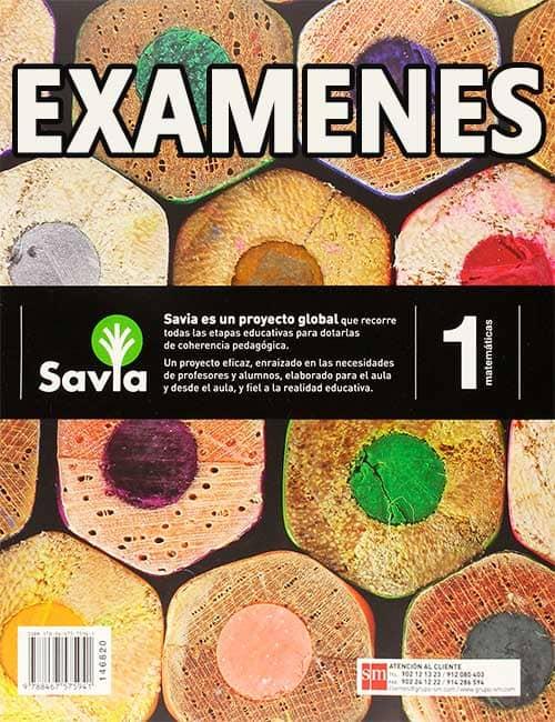 Examenes de Matematicas 1 ESO SM Savia