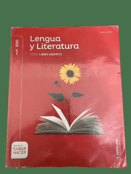 Lengua y Literatura 1 eso Santillana Serie Libro Abierto Proyecto Saber Hacer