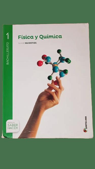 Libro Fisica y Quimica 1 Bachillerato Santillana serie investiga