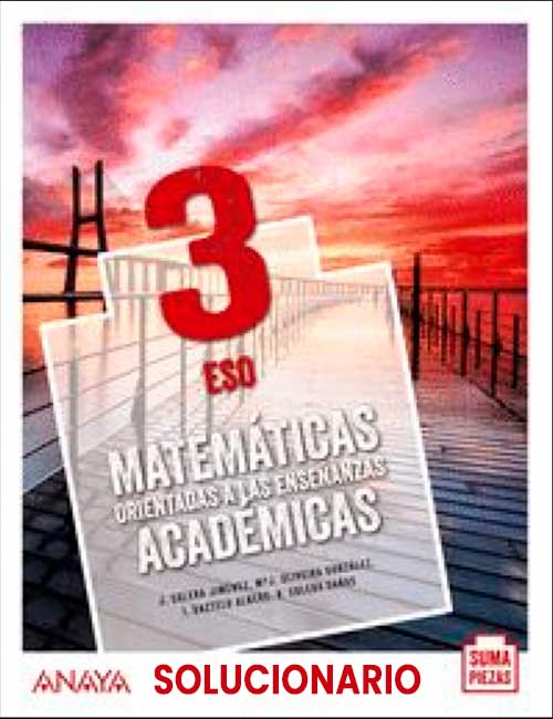 Matematicas 3 eso Anaya 2021 Suma Piezas