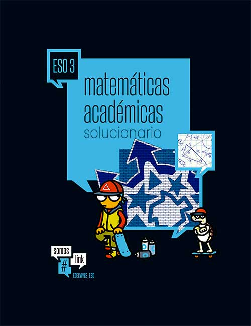 Matematicas Academicas 3 eso Edelvives Solucionario pdf somos link