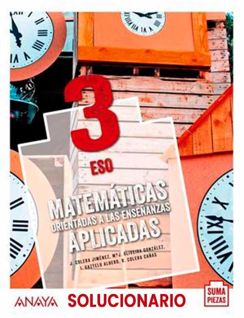 Matematicas Aplicadas 3 eso Anaya 2021 Suma Piezas