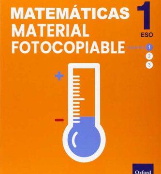Material Fotocopiable Matematicas 1 ESO Oxford PDF