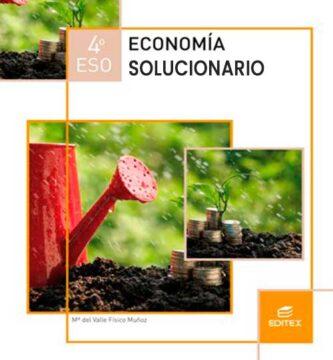 Solucionario Economía 4 ESO Editex