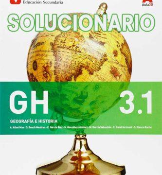 Solucionario Geografía e Historia 3 eso Vicens Vives
