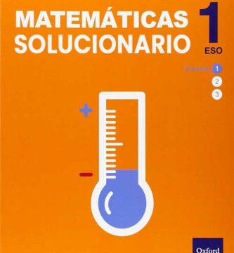 Solucionario Matemáticas 1 ESO Oxford Inicial Dual