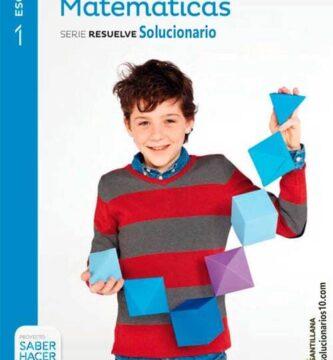Solucionario Matematicas 1 ESO Santillana
