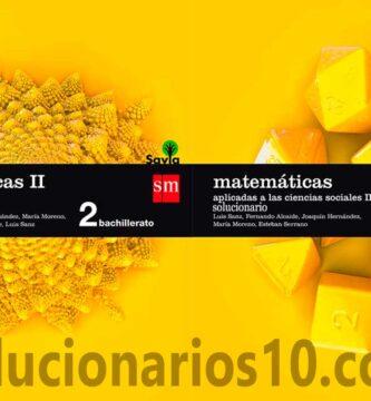 Solucionario Matematicas 2 Bachillerato SM