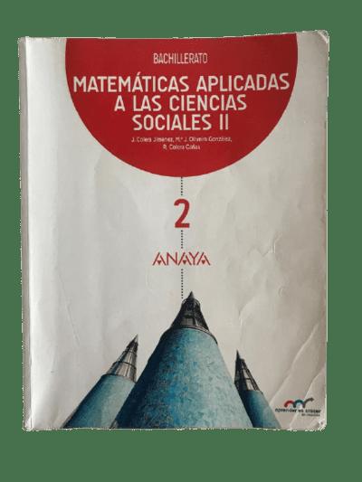Solucionario Matematicas 2 CCSS Bachillerato Anaya