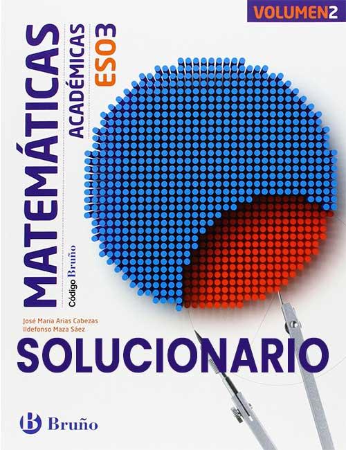 Solucionario Matematicas 3 ESO Bruño