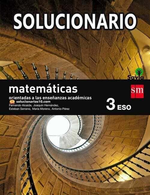 Solucionario Matematicas 3 Eso sm