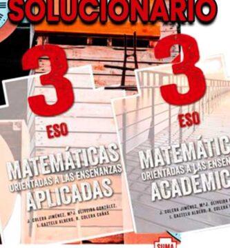 Solucionario Matematicas 3 eso Anaya suma piezas