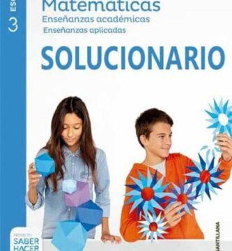 Solucionario Matematicas 3 eso Santillana