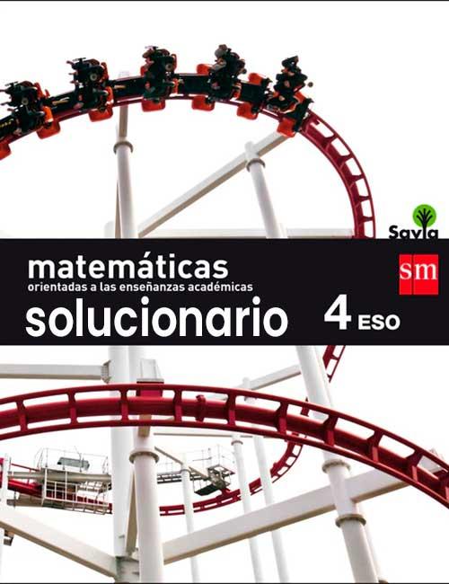 Solucionario Matematicas 4 eso SM