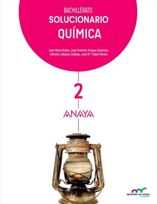 Solucionario Quimica 2 Bachillerato Anaya