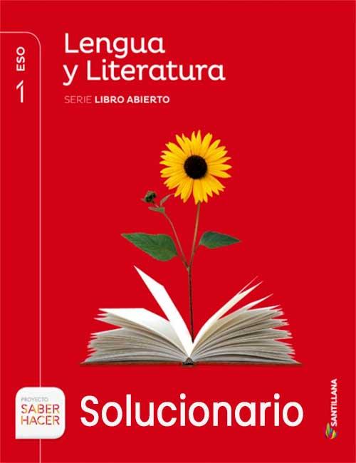 Soluciones Lengua y Literatura 1 ESO Santillana