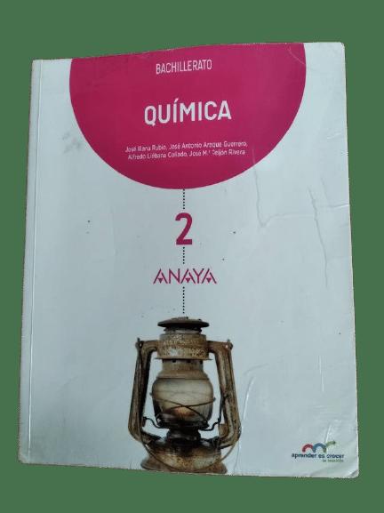 Soluciones Quimica 2 Bachillerato Anaya Serie Aprender es Crecer