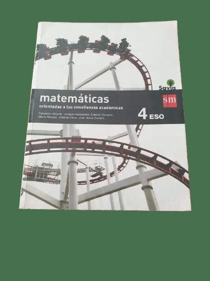 Soluciones del Libro Matematicas 4 ESO sm Savia pdf