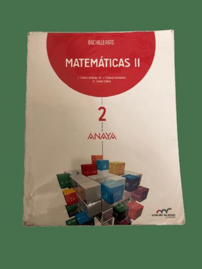 descargar libro matematicas 2 bachillerato anaya pdf