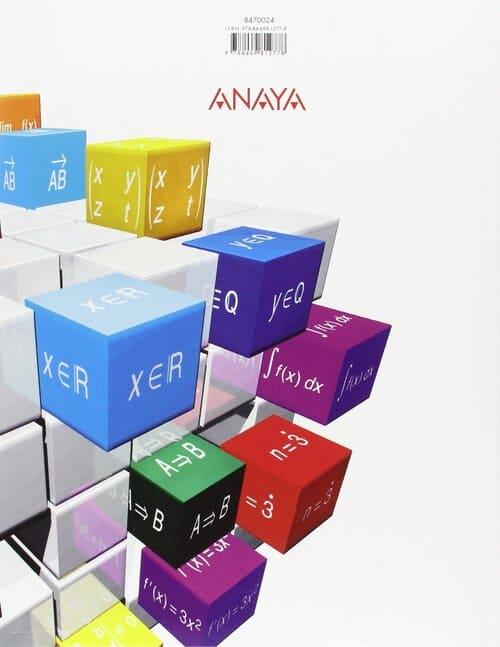 libro matematicas 2 bachillerato anaya