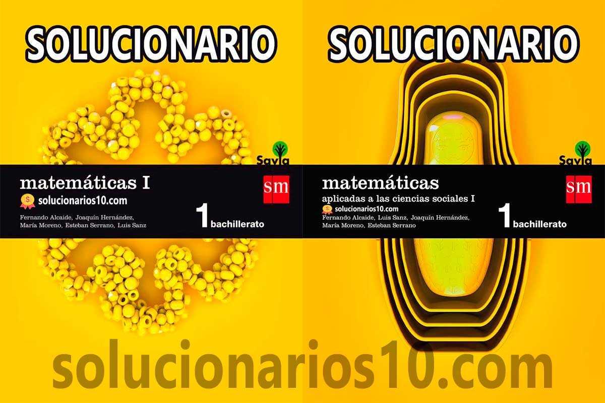 matematicas 1 bachillerato sm