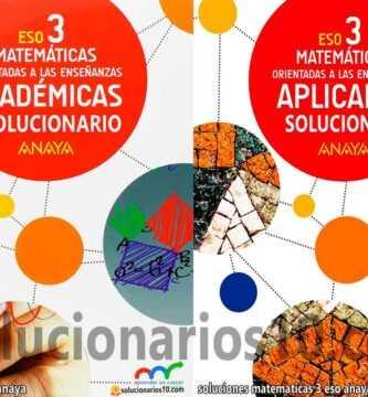 solucionario matematicas 3 eso anaya