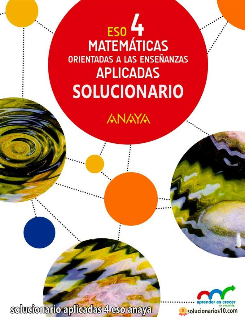 solucionario matematicas aplicadas 4 eso anaya