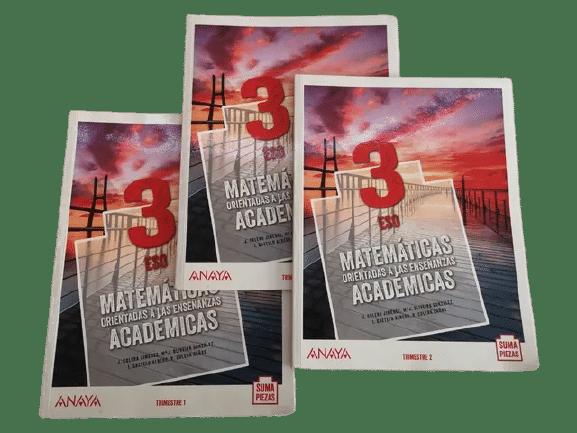 soluciones libro matematicas academicas 3 eso anaya suma piezas