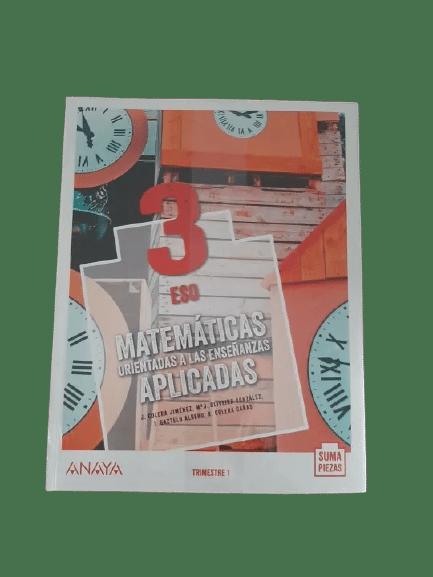 soluciones libro matematicas aplicadas 3 eso anaya suma piezas