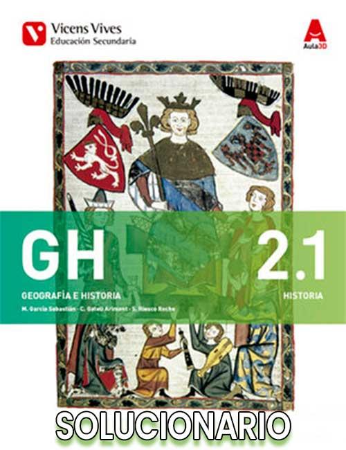 Solucionario Geografía e Historia 2 ESO Vicens Vives